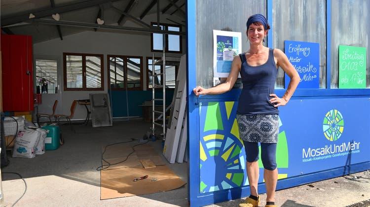 «MosaikUndMehr»: In dieser Werkstatt kann jeder ein Künstler sein