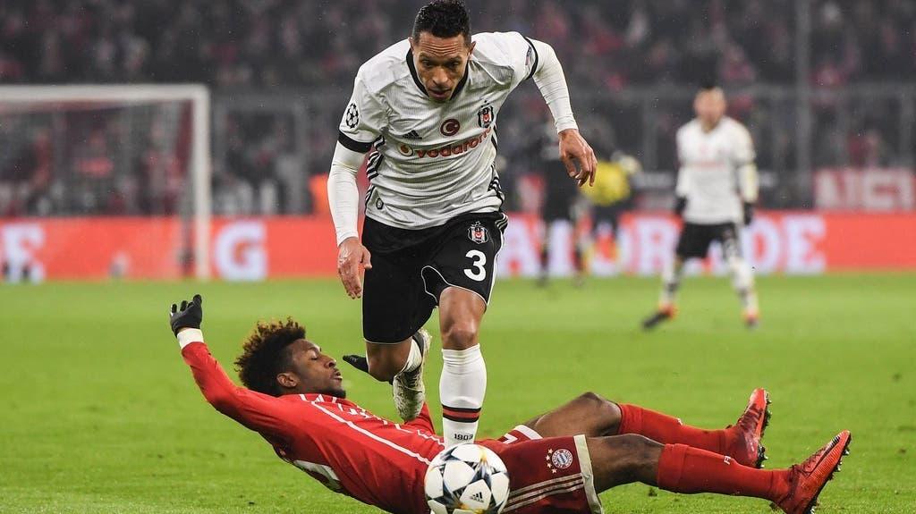 Impressionen aus dem Spiel: FC Bayern gegen Beskitas Istanbul