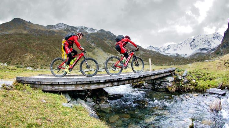Rekord trotz Schlafmangel: In 27 Stunden mit dem Bike von Oberstdorf nach Riva