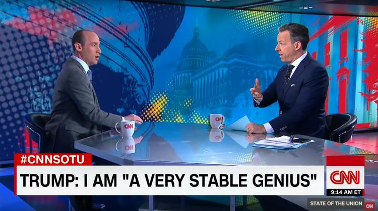 Moderator hat so richtig die Schnauze voll – CNN bricht Interview mit Trump-Berater ab