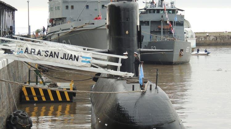 U-Boot mit 27-köpfiger Besatzung seit Mittwoch verschollen