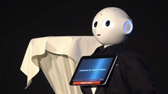Roboter statt Menschen im Restaurant – so könnte das in Zukunft aussehen