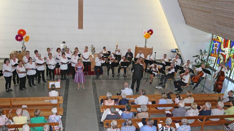 Gemeinschaftskonzert encantochor mit Senierenorchester