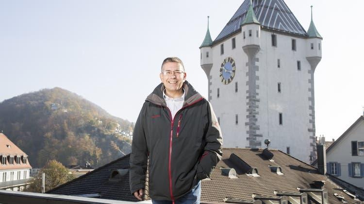 Badener Urgewächs mit kräftigem Händedruck: Markus Schneider will die Finanzen ins Lot bringen
