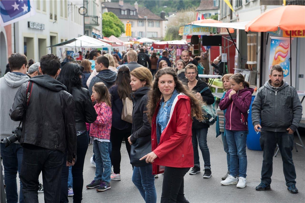 Frühlingsmarkt Bad Zurzach.