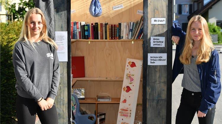 Nach mehrfachen Vandalenakten: Die Givebox zügelt in den Kindergarten