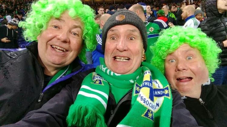 Gary Thompson und die Green and White Army sind bereit für die Playoffs