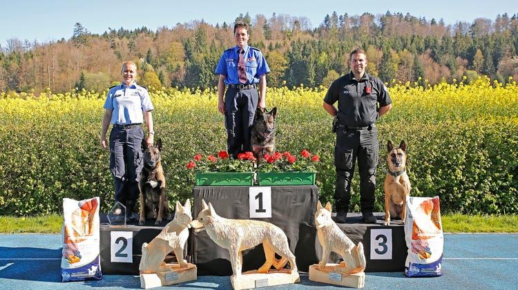 Die beste Polizeihundeführerin kommt aus dem Kanton Bern