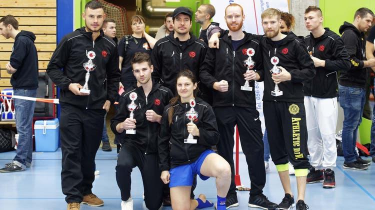 Schweizermeisterschaft 2017 der Swiss Wushu Federation.