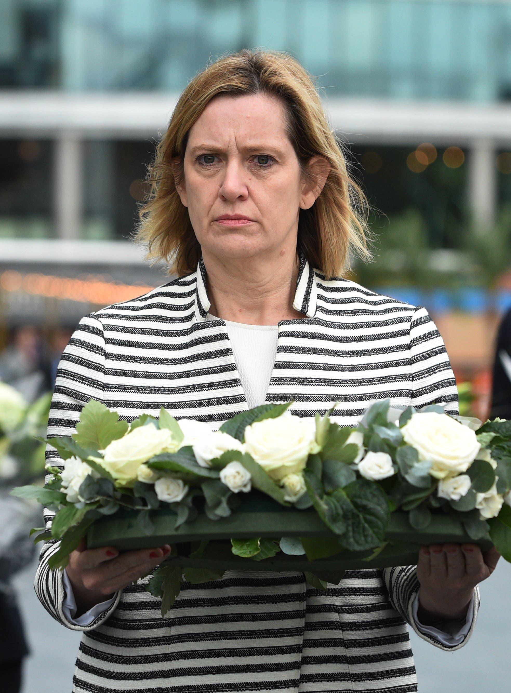 """Laut """"Telegraph"""" denkt auch Innenministerin Amber Rudd über eine Absetzung von Theresa May nach."""