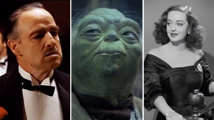 «Möge die Macht mit dir sein»: Erkennen Sie diese legendären Film-Zitate?