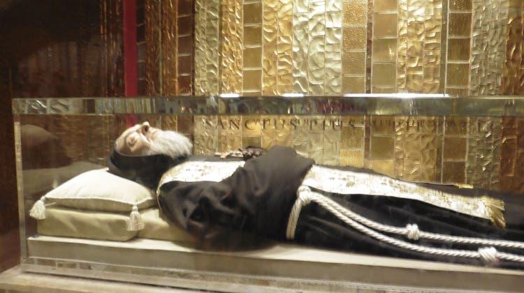 Auf den Spuren des heiligen Pater Pio von Pietrelcina