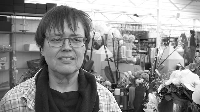 Jacqueline Gasser, Floristin, Lenzburg: «Das Schönste in meinem Leben war vor vielen Jahren»