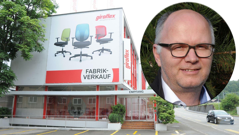 Ein «Weihnachtsgeschenk» für die Gemeinde: Der Grossteil der Giroflex-Mitarbeiter bleibt in Koblenz