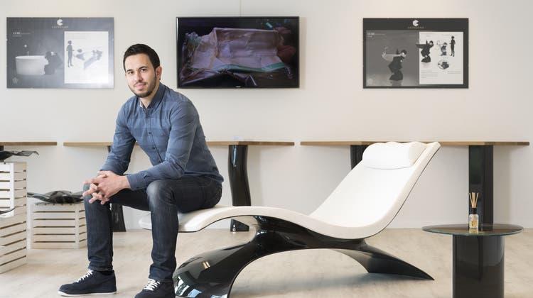 Aargauer Jungunternehmer mischt Möbelbranche mit exklusiven Produkten auf
