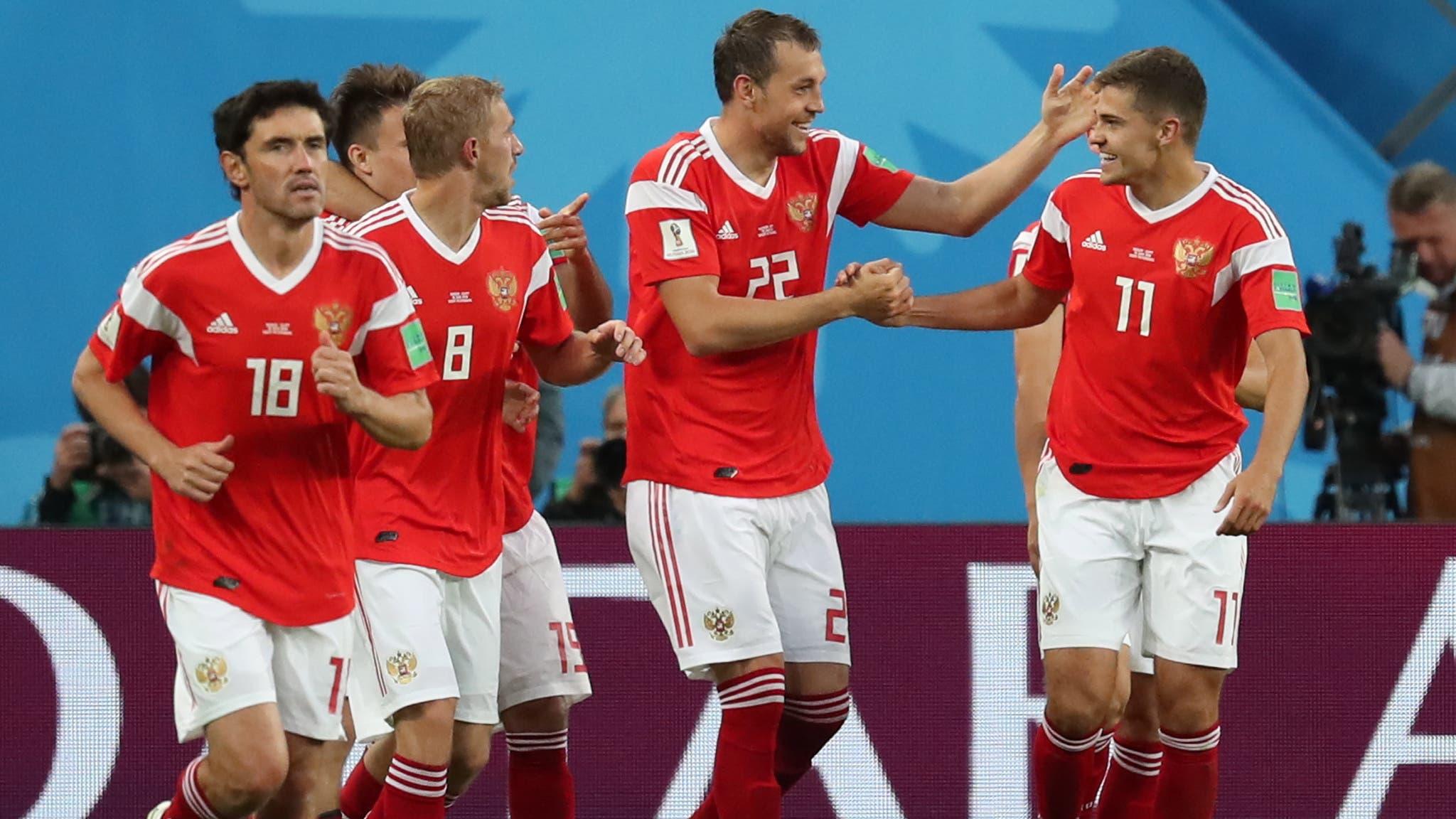 Die Russen feiern den standesgemässen 3:1-Erfolg und somit die volle Punktzahl nach zwei Spielen.