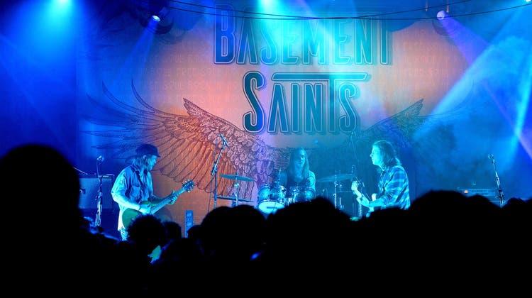 Die Basement Saints sind top unterwegs
