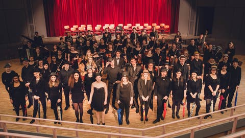 Konzert zum 100. Jahrestag der Russischen Oktoberrevolution
