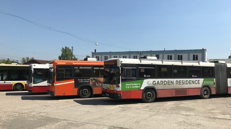 Ausrangierte RVBW-Busse führen ein zweites Leben in Rumänien