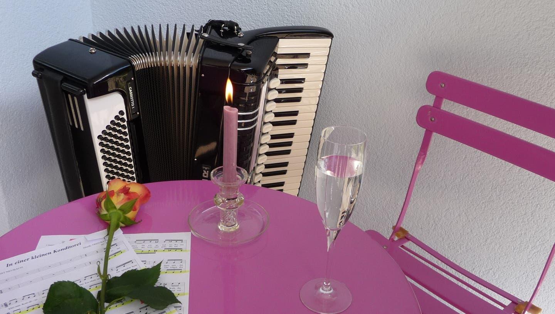 Handharmonika, Gesang und Schwyzerörgeli am Jahreskonzert vereint