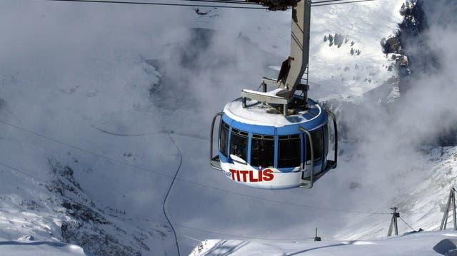 Über 130 Personen mit Helikoptern vom Titlis geflogen