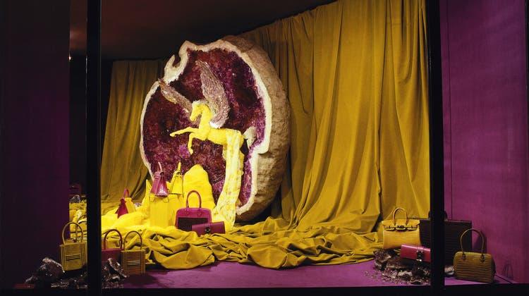 Schaufenster zur Traumwelt: Leïla Menchari dekorierte 40 Jahre die Vitrinen des Luxushauses Hermès