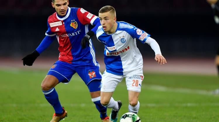 Der FC Basel gewinnt gegen GC mit 2:0 und geht als Tabellenzweiter in die Winterpause
