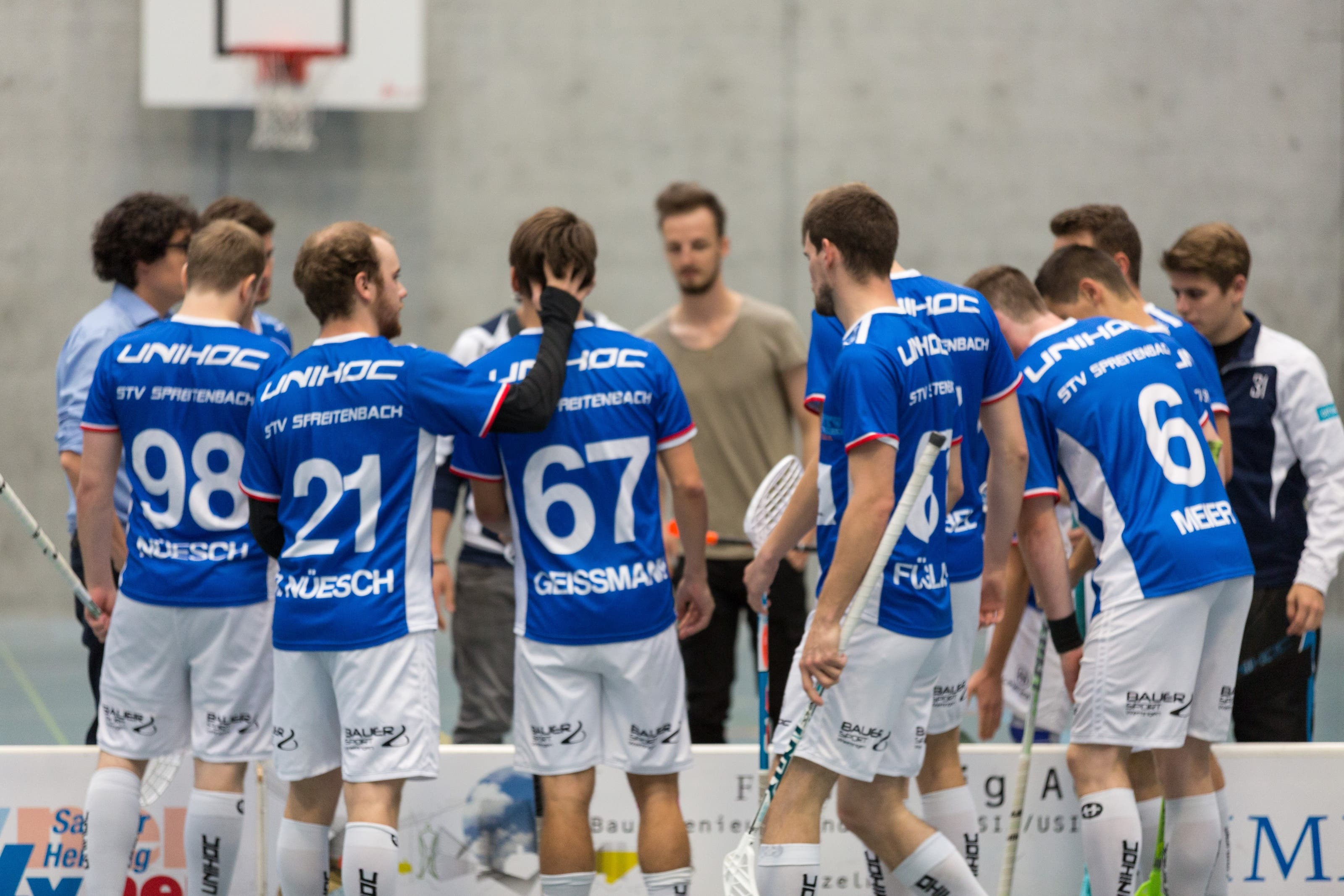Vor dem Bäretswil-Spiel... Da war man noch optimistisch! Foto: Lucas Hodel.