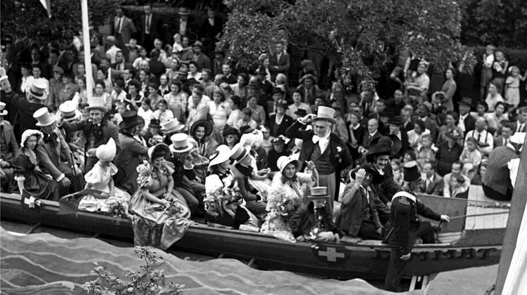 Die Badefahrt 1947 war das grosse Fest nach dem Kriegsende