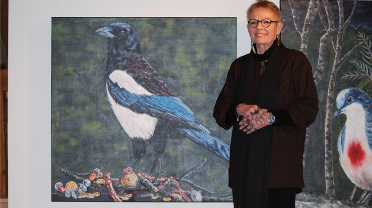 Jeannette Lerch: Ihre Tierbilder offenbaren symbolischem Tiefgang