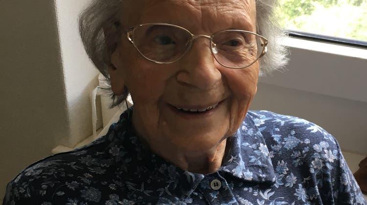 105. Geburtstag im Pflegezentrum Süssbach, Brugg