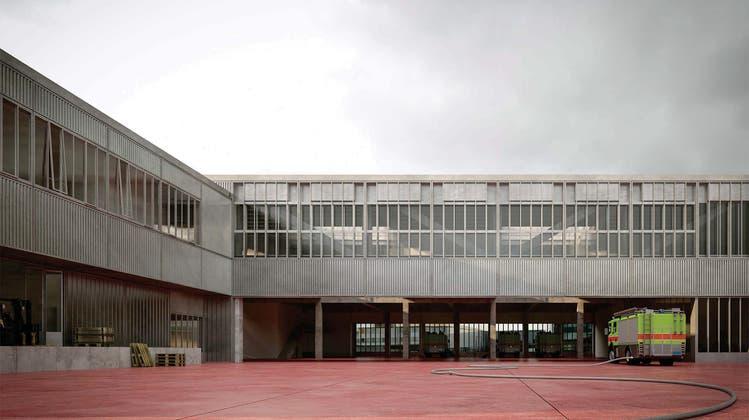 Neue Wache in Zürich Nord: Entwurf «Mazinga» entscheidet Architekturwettbewerb für sich