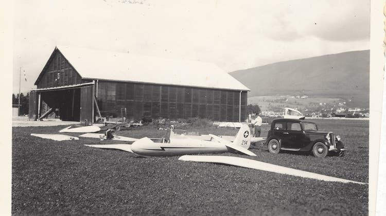 Larifari an der Segelflugmeisterschaft 1937