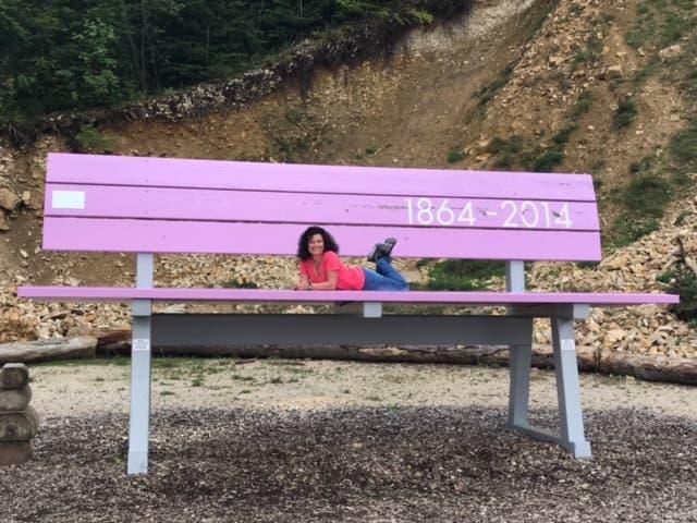undefined Yeahh hab eine Sitzbank für mich alleine gefunden :-) Waldenweide Wasserfallen Baselland 5.9.2017
