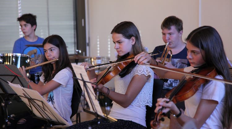 Sommerkonzert der Musikschule Würenlos