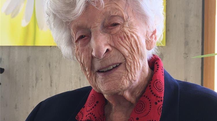 Zweitälteste Aargauerin: «Ich wurde 106 Jahre alt, weil ich keinen Mann hatte»