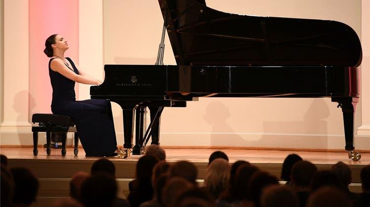 Olga Scheps auf dem Steinway im Konzertsaal: Eine Sternstunde des Musizierens