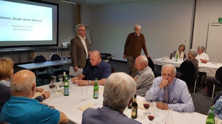 29. Jahresversammlung der Vereinigung pensionierter Mitglieder der Pensionskasse der Stadt Olten