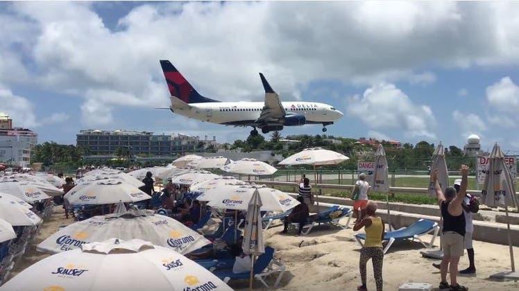 Turbinenwind tötet Touristin auf Karibikinsel St. Martin
