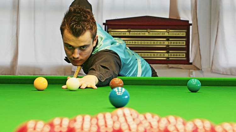 Fricktaler Snooker-Profi schafft am «English Open» eine Sensation