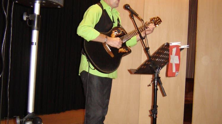 Fredy Schär zu Gast in Wölflinswil