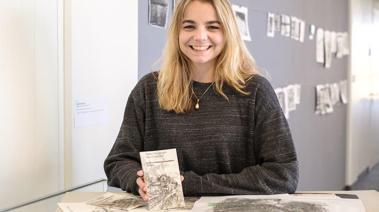 Eine Schülerin aus Oberwil gestaltet das Cover eines Literaturklassikers