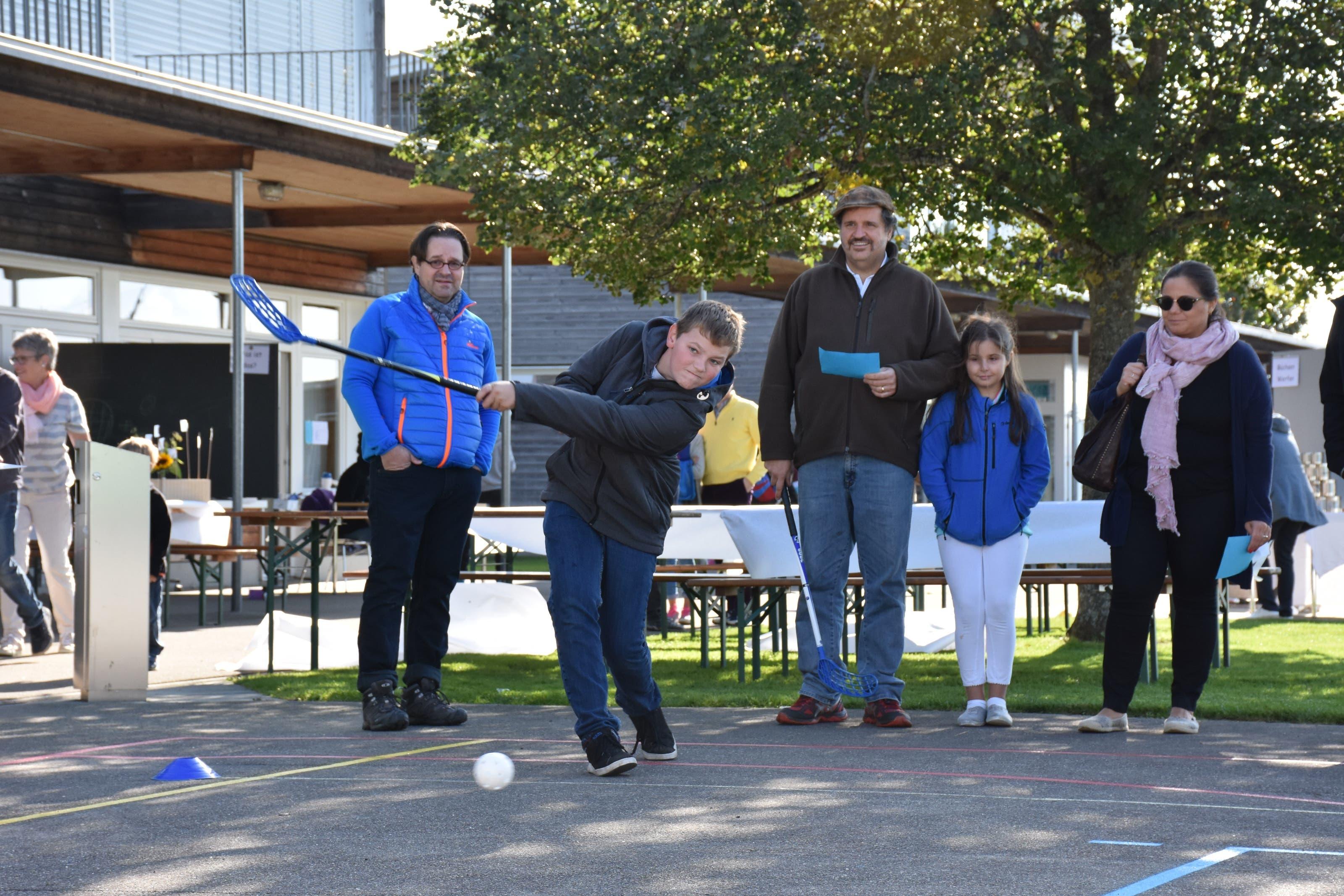 Am Jugendfest wurden neue Golftalente entdeckt.