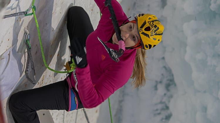 Petra Klingler in Saas-Fee im Final