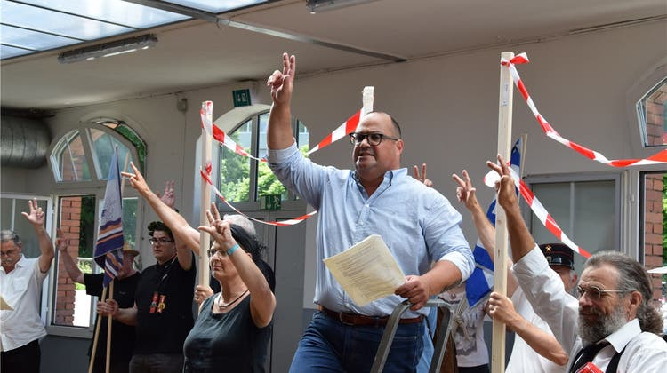 100 Jahre Landesstreik: In der Bleichi proben sie den Aufstand
