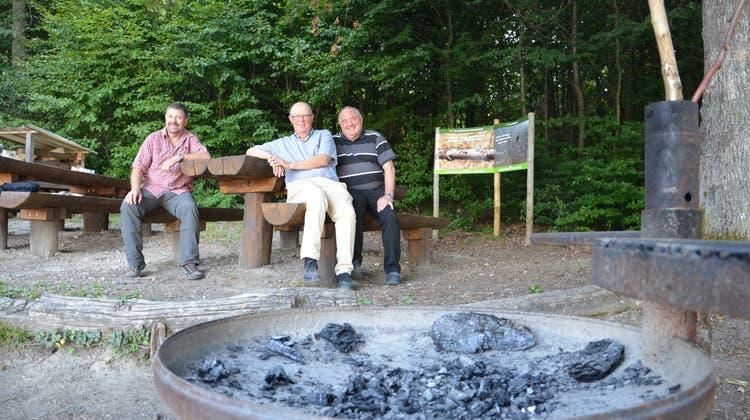 Nach Renovation: Grillplatz Wasserschlossblick macht wieder Freude