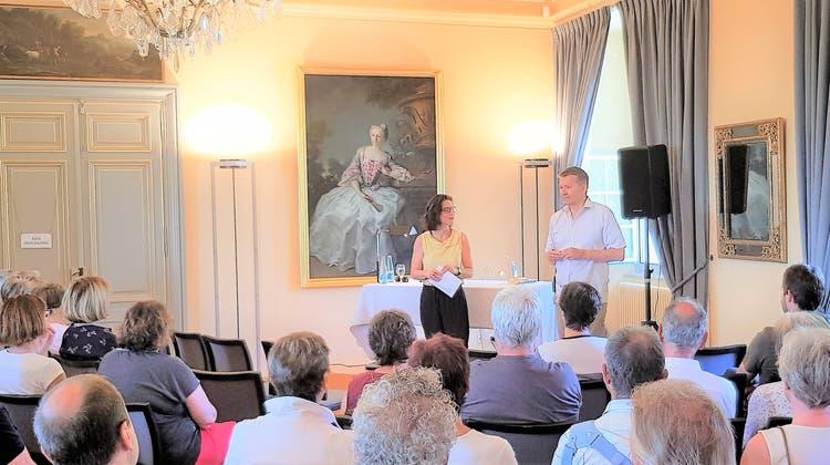 Lesung mit Christof Gasser auf Schloss Waldegg