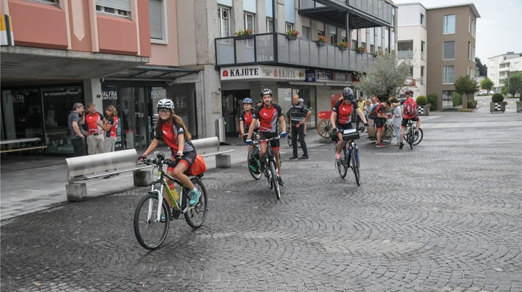 Nach 730 Kilometern am Meer: Die Freiämter bbz-Biker erreichen heute ihr Ziel