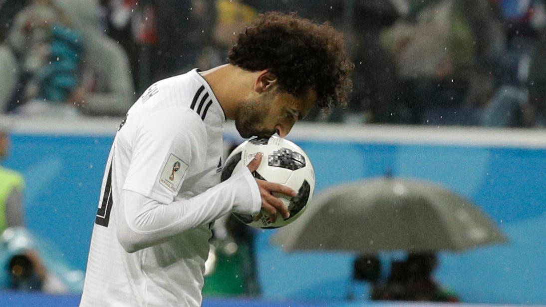 Wenigstens gelang Mohamed Salah per Penalty noch sein persönlicher Treffer. Es war der Anschlusstreffer zum 1:3.