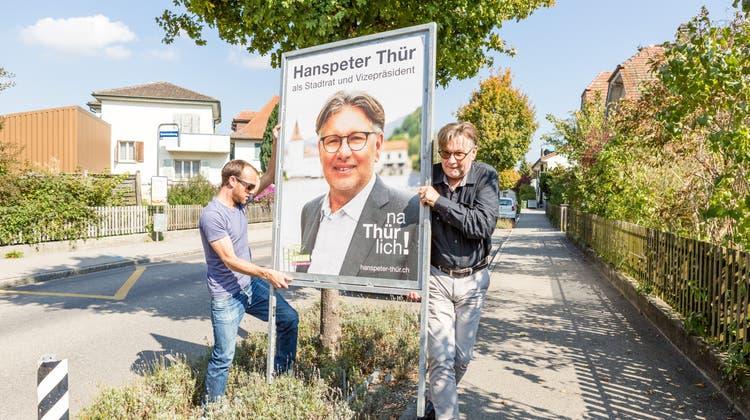 Neu-Stadtrat Thür investierte 25'000 Franken – eine Facebook-Seite wollte er nicht